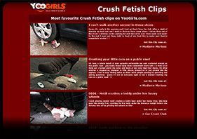 Crush Fetish Clips